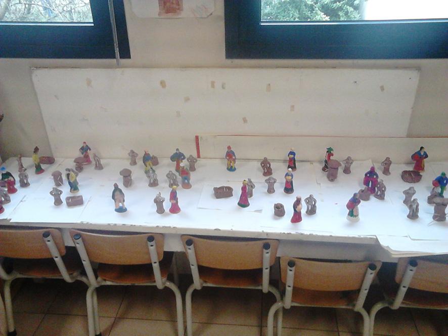 Ecole Nativité - Atelier Santons 2014