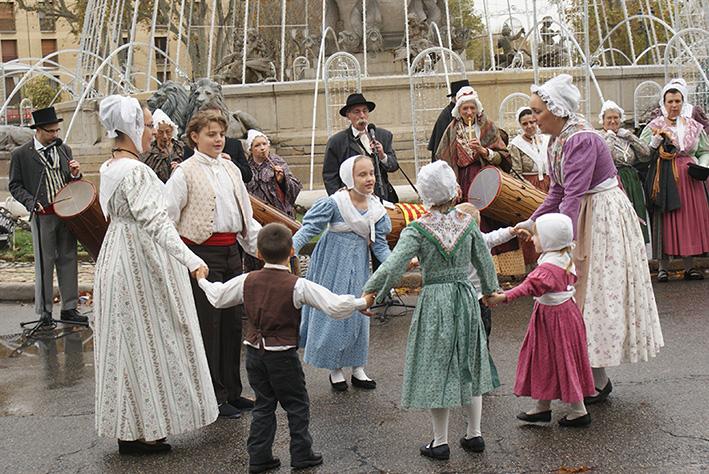 Messe des Santonniers et Foire aux Santons Aix 2014