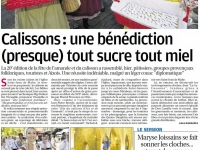 article-la-provence-benediction-des-calissons-07_09_2015
