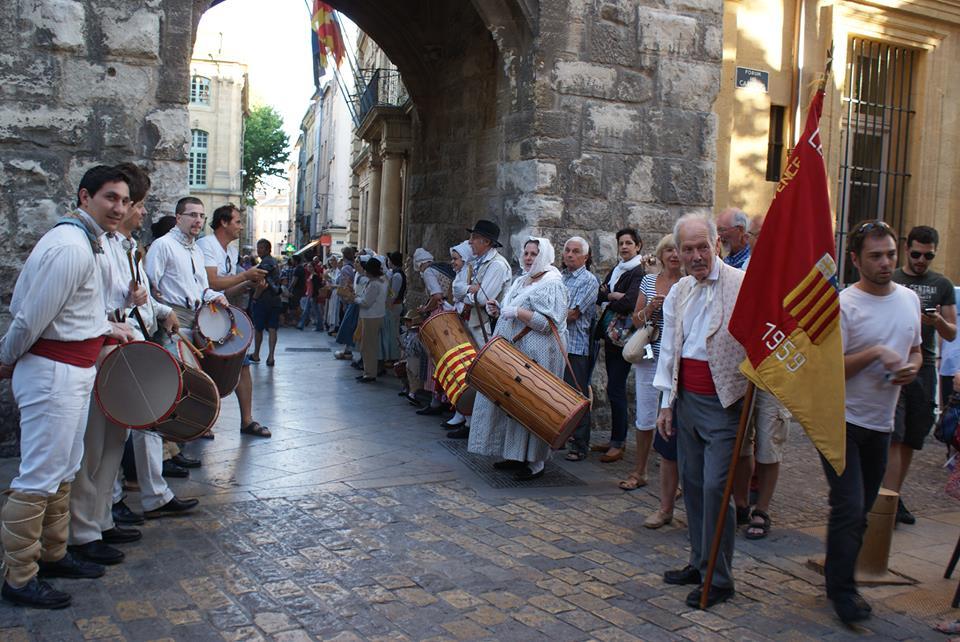Haie d\'honneur - Mairie d\'Aix