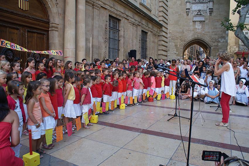 Concert des élèves des Ecoles de Celony