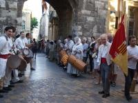Haie d'honneur - Mairie d'Aix