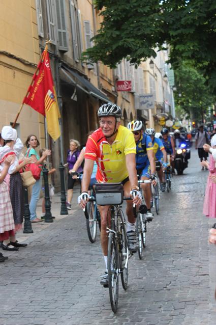 Suivi par le cyclistes