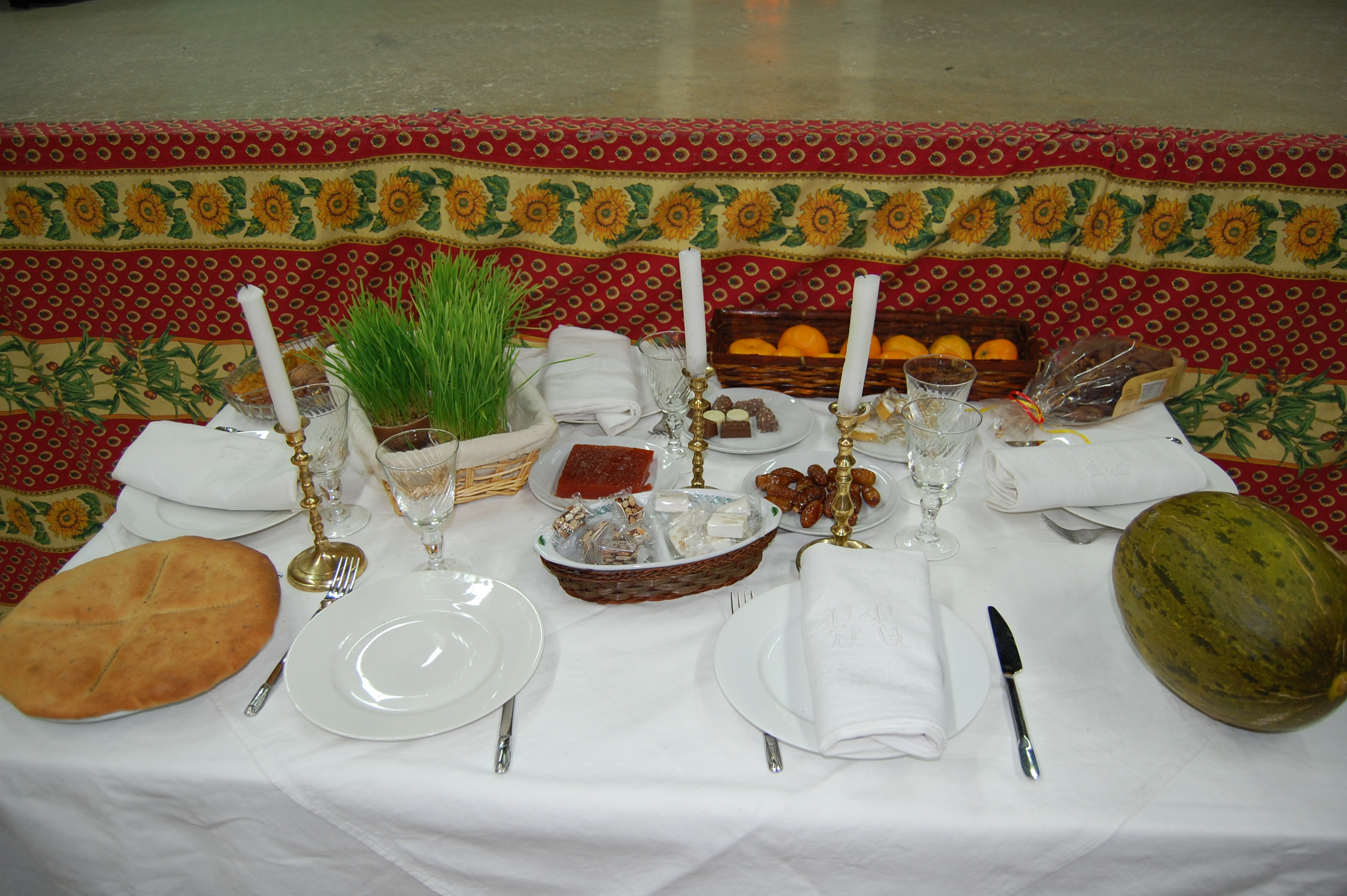 Table des 13 desserts