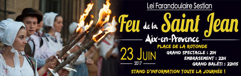 Feu St Jean Aix Farandoulaire 2017V1