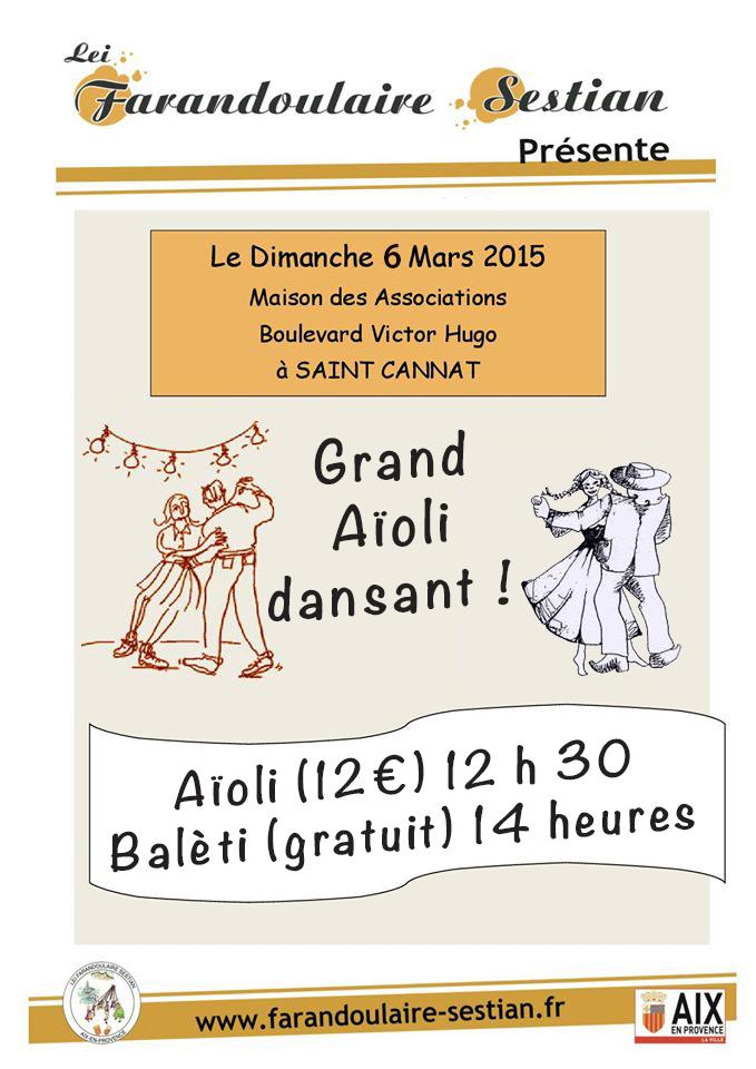 Affiche Aioli - Baleti 2016