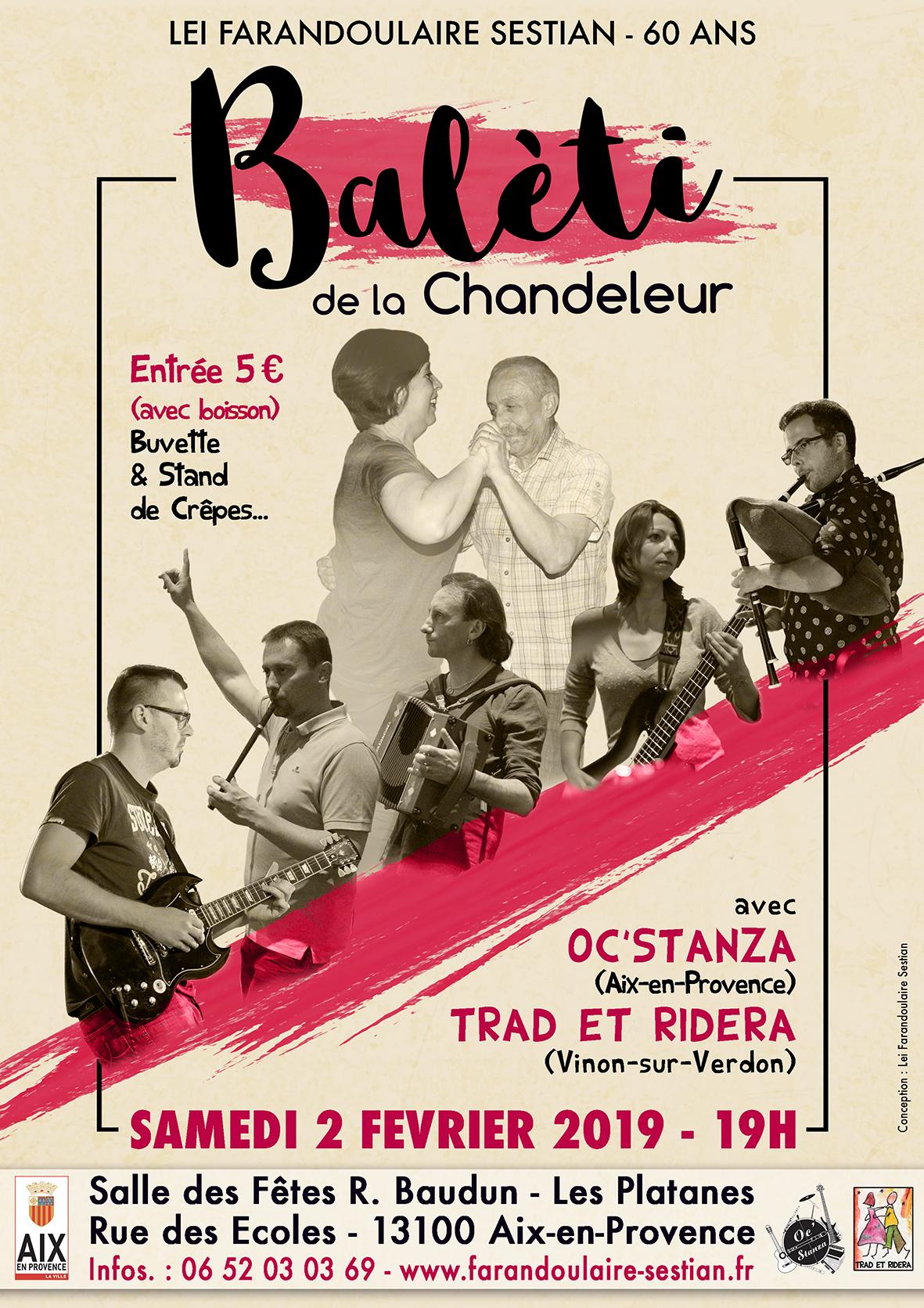 Affiche Baleti de la Chandeleur Web