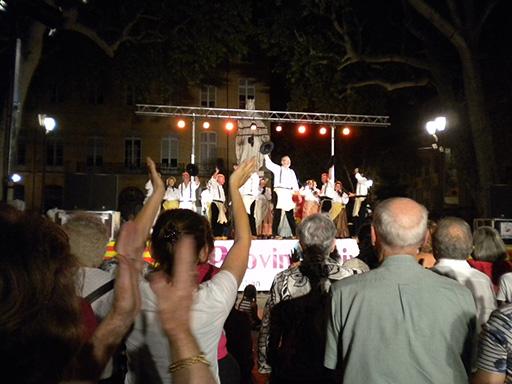 Spectacle du samedi soir - Lo Gantieirelo