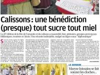article-la-provence-benediction-des-calissons-07_09_2015