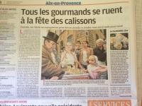 article-la-Provence-Calissons-Septembre-2014