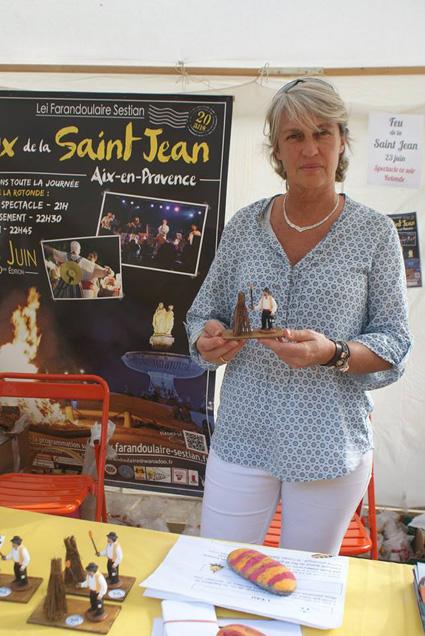 Santon Cavasse-Ferry de la Saint Jean d\'Aix