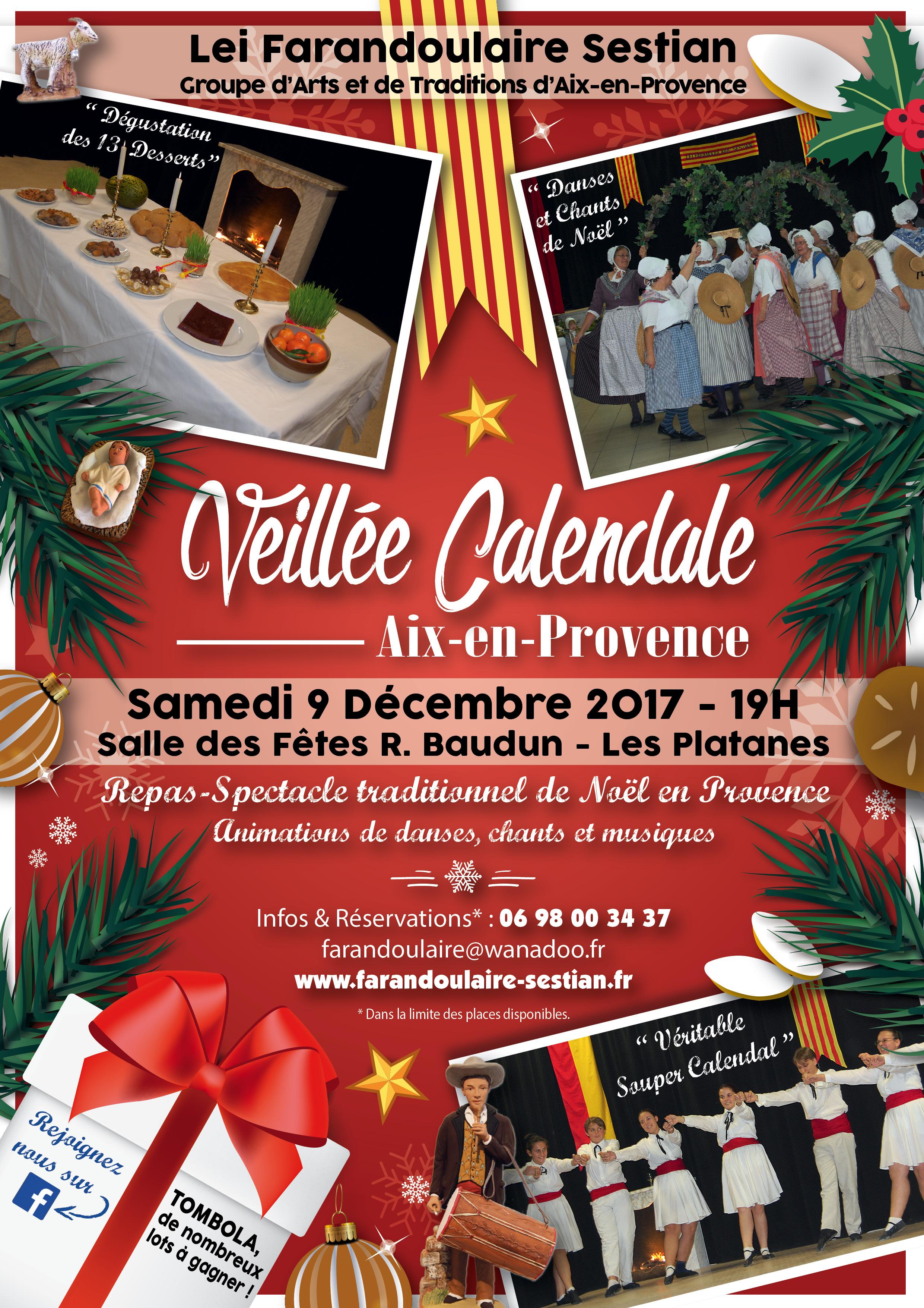 Affiche Veillée Calendale 2017 web