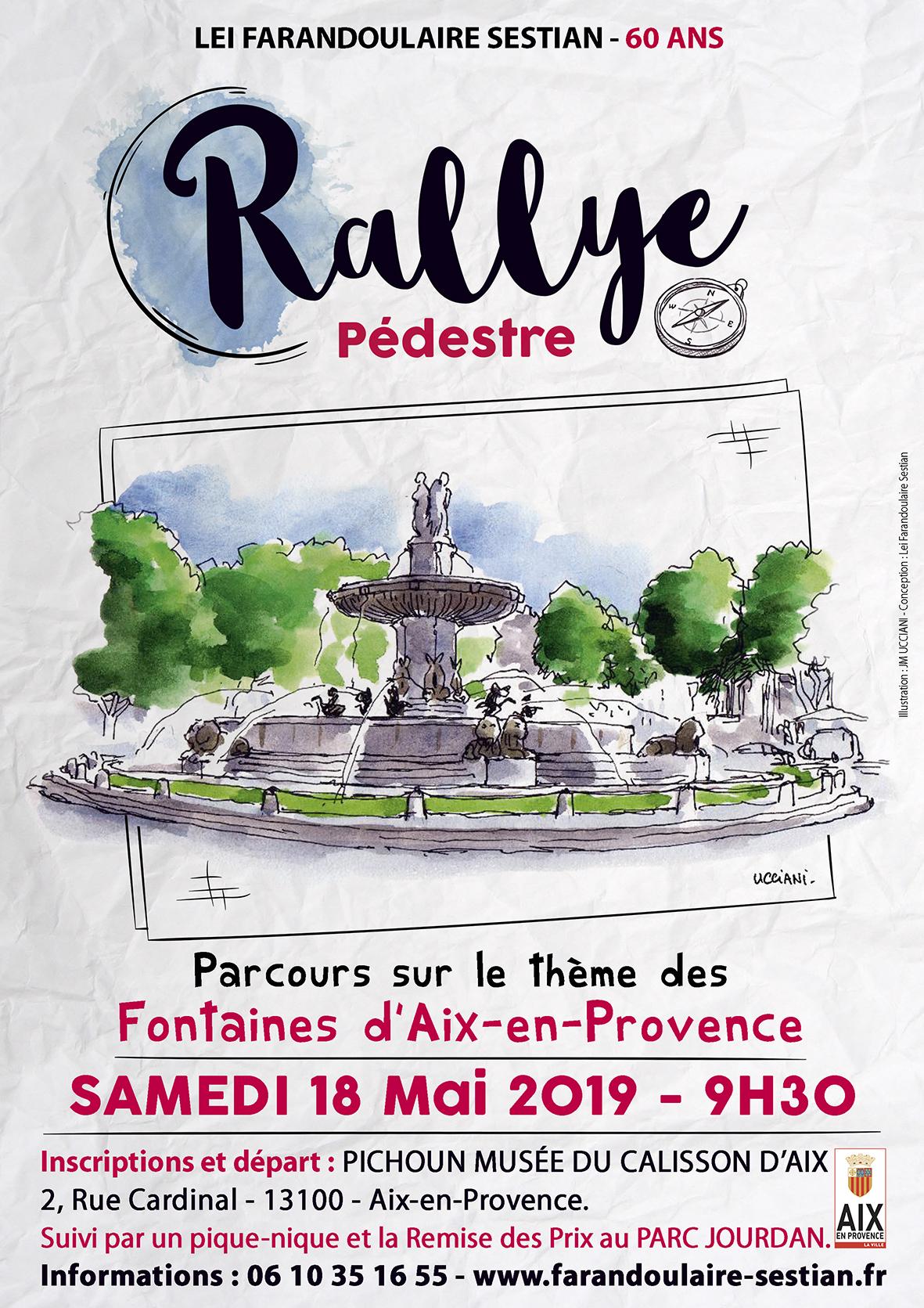 Affiche Rallye Pedestre Web